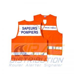 Gilet Sapeurs-Pompiers haute visibilité