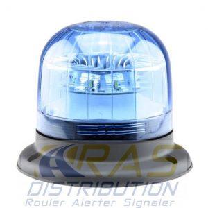 Gyrophare LED Eurorot bleu B ISO