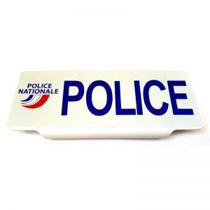 Pare soleil Police réfléchissant 3M avec logo