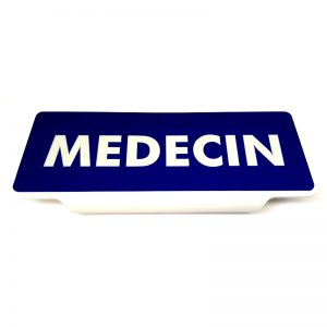 Pare soleil Médecin réfléchissant à clip