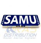 Plaque pare-soleil lumineuse FSX SAMU
