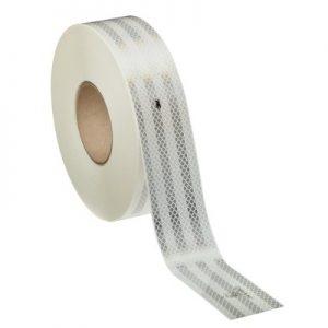 Bande réfléchissante adhésive 3M balisage de contour blanc