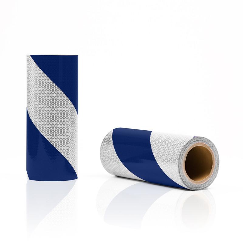 Rouleaux-de-balisage-blanc-bleu pour véhicule ambulance