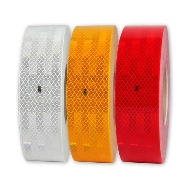 Signalisation de contour balisage 3M rouge blanc jaune
