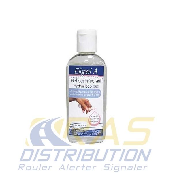 Gel Hydroalcoolique 100 ml Antiseptique contre le Coronavirus Eligel A